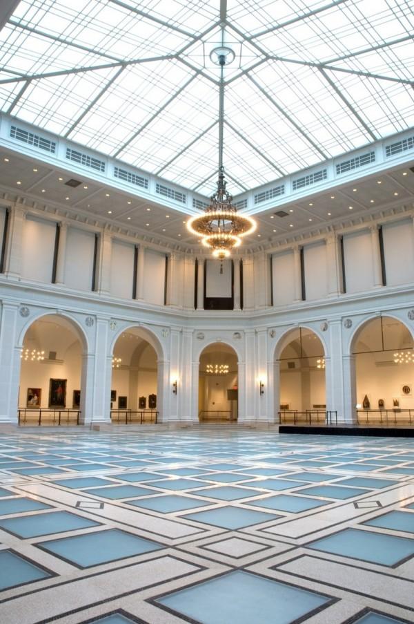 Foto de la corte de bellas artes del museo: Museo de Brooklyn