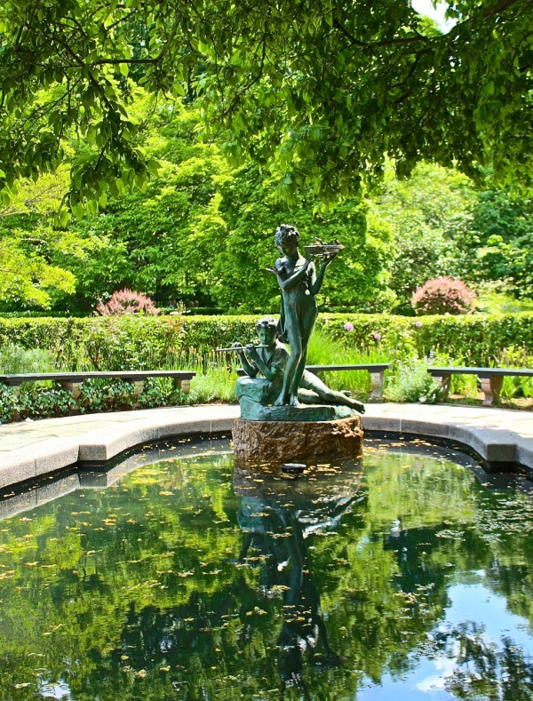 Burnett Fountain, Conservatory Garden, Central Park