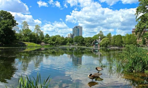 Harlem Meer, Central Park, Nueva York