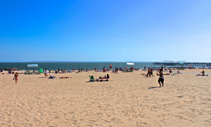 Coney Island Beach, NYC
